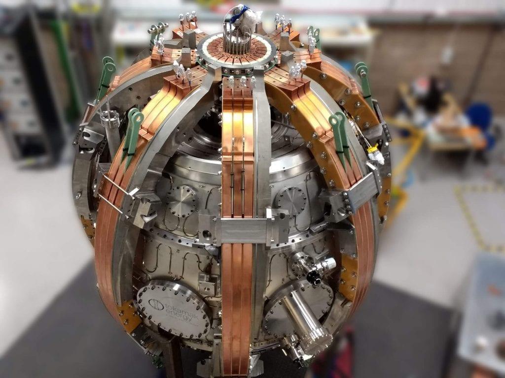 nuclear fabrication – tokamak st40 fusion device