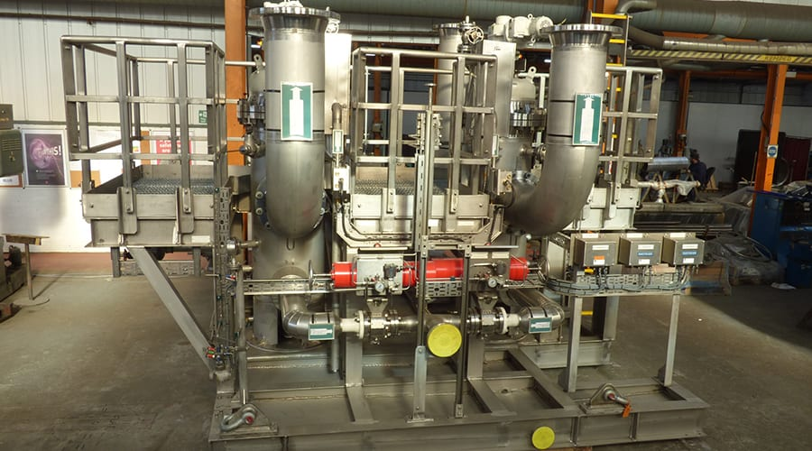 Seawater Course Filter Skid
