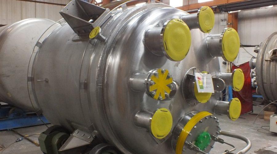 High Nickel Alloy Reactor Vessels
