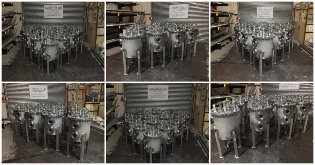 Stainless Steel Seal Pots
