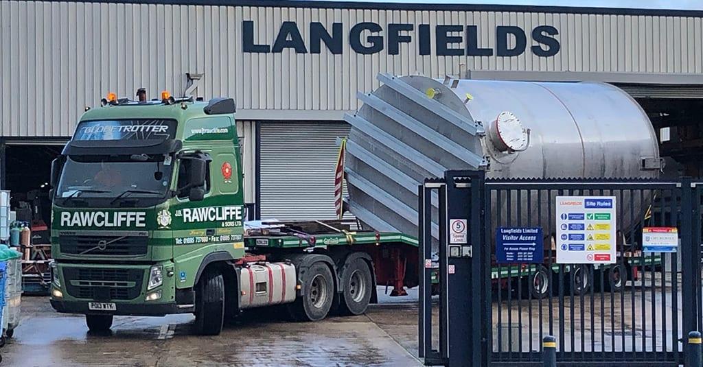 60,000L 316L Stainless Steel Storage Tank
