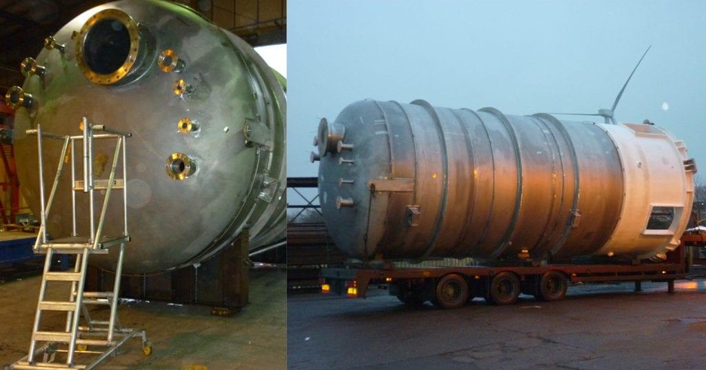 Super Duplex Pressure Vessel