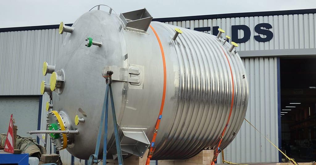 Duplex Jacketed Reactor Vessel