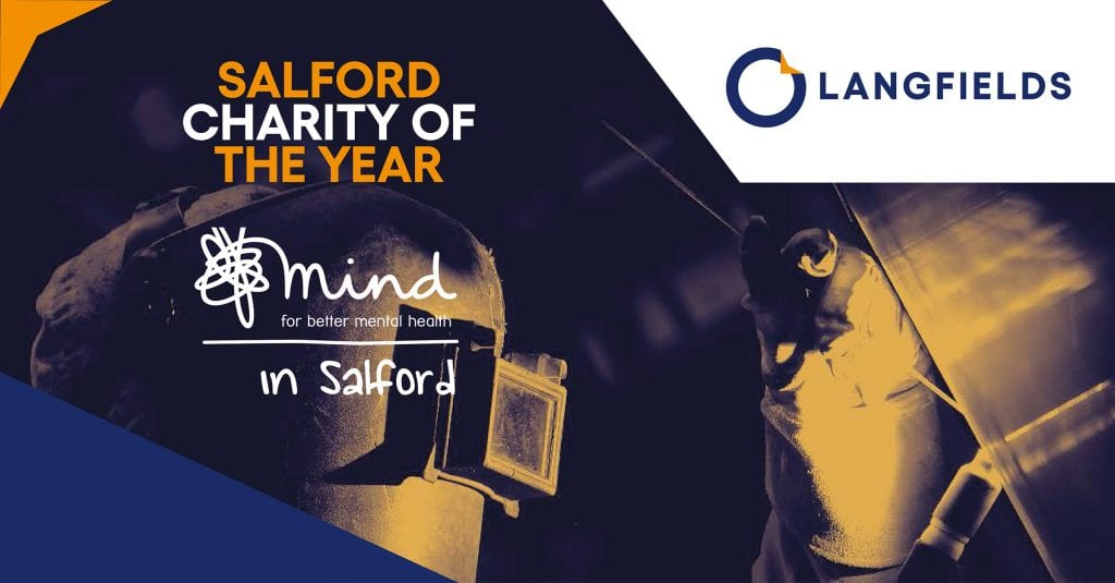 Salford charity of the year graphic
