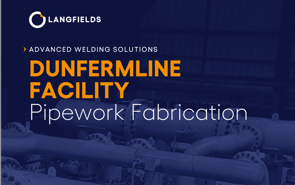 dunfermline facility - pipework fabrication