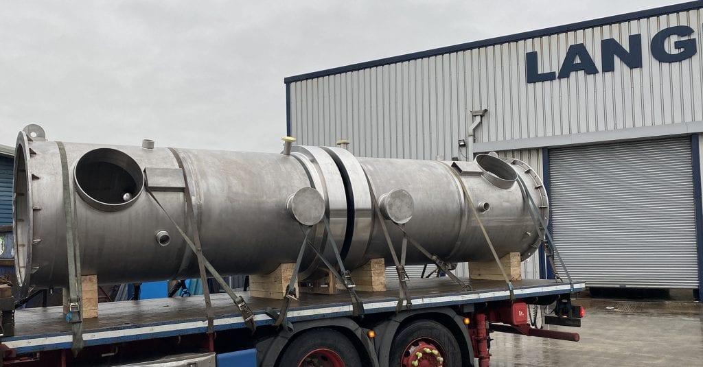 UNS S31803 Duplex Vessels