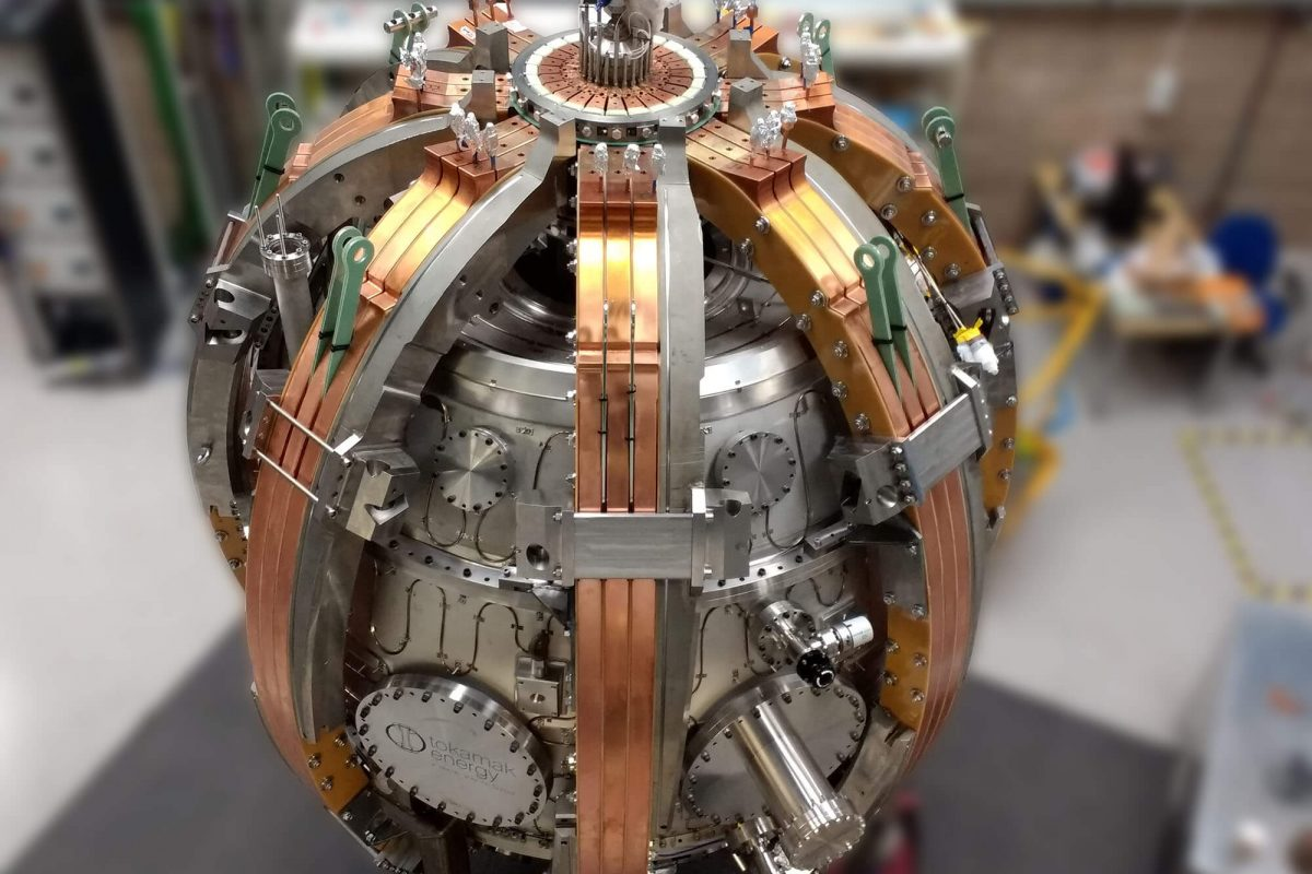 nuclear fabrication - tokamak st40 fusion device