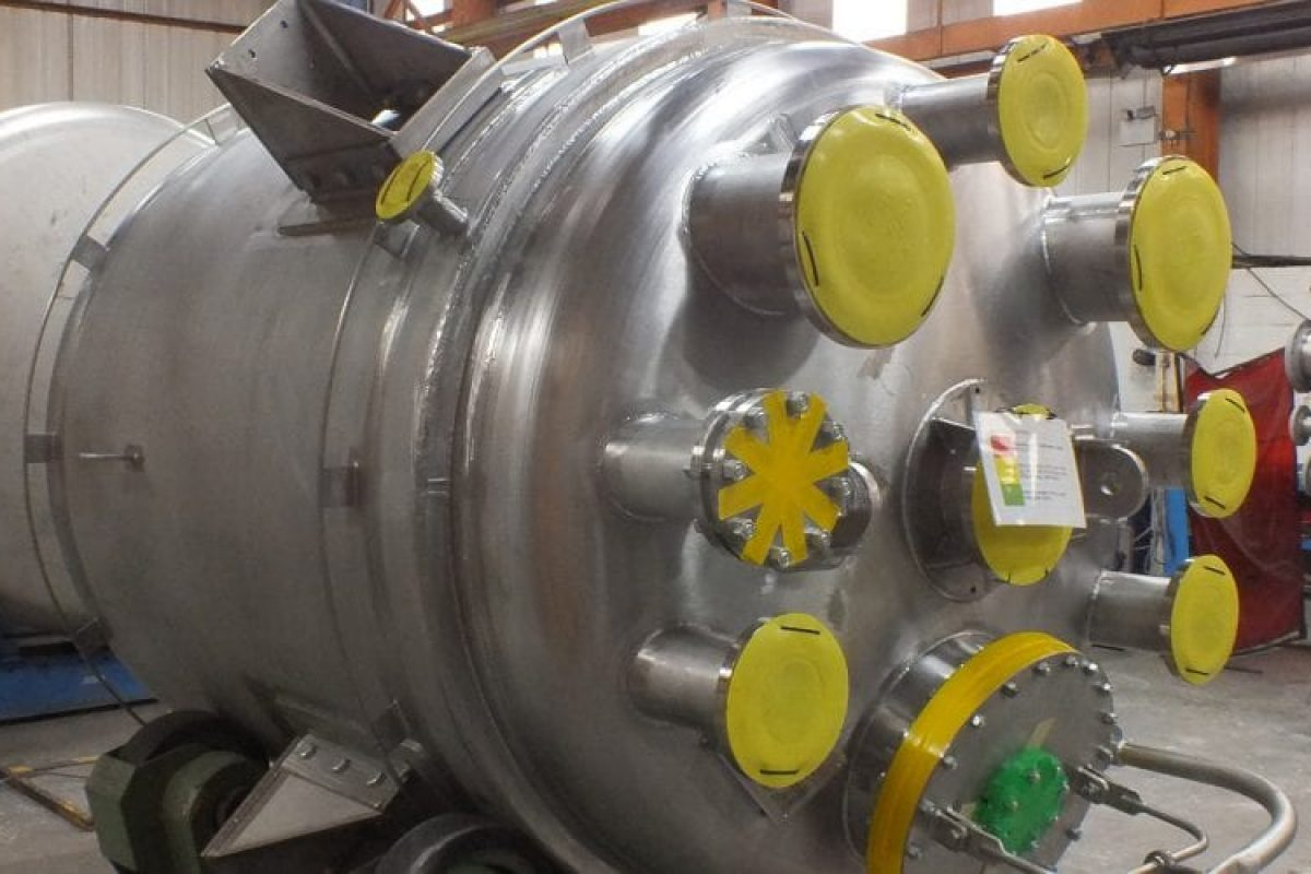 High Nickel Alloy Reactor Vessels